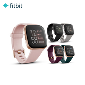 fitbit Versa 2 智能手錶 運動手環 智慧手錶 健身手環 防水 粉 銀 黑 群光公司貨