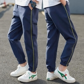 男童褲子2020春夏款兒童洋氣褲子薄款韓版中大童男孩休閒迷彩長褲 滿天星