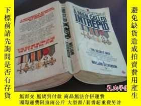 二手書博民逛書店【二戰】無畏的人罕見a man called intrepid: