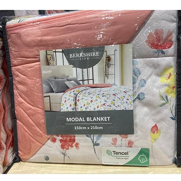 [COSCO代購] C126471 BERKSHIRE LIFE BLANKET 莫代爾蓋毯 MODAL BLANKET 尺寸:150X210CM