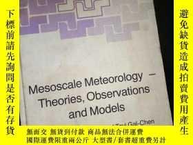 二手書博民逛書店Mesoscale罕見Meteorology - Theories,Observations and Models