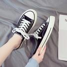 2021年無后跟半拖小白帆布鞋女鞋2020新款百搭一腳蹬懶人鞋春夏款
