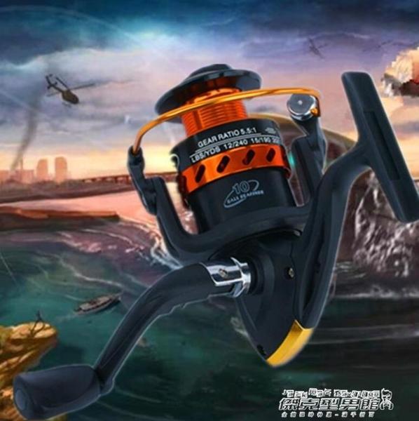 捲線器釣魚線輪漁線輪全金屬頭海竿海桿輪遠投輪捲線器纏線器紡車輪 【傑克型男館】