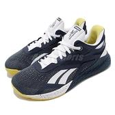 Reebok 訓練鞋 Nano X 藍 白 男鞋 多功能 運動鞋 CrossFit專用 【ACS】 FW8473