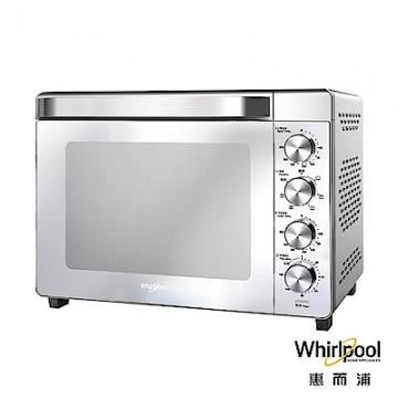 (好康)【Whirlpool 惠而浦】32公升不鏽鋼機械式烤箱 WTOM321S (台灣公司貨)