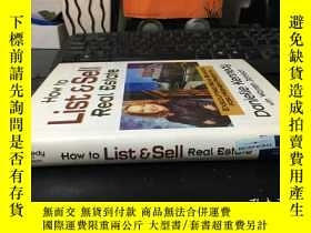 二手書博民逛書店How罕見to List & Sell Real Estate