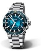 Oris Aquis大堡礁限量腕錶III(0174377344185-Set)藍面/43.5mm