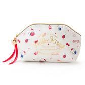 Sanrio HELLO KITTY幸福女孩系列第二彈PU皮革筆袋/化妝包(甜蜜草莓)★funbox生活用品★_335002