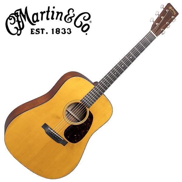 Martin D-18 Authentic 1939 Aged 嚴選具VTS的阿迪朗達克雲杉單板 桃花心木背側面板吉他