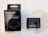 【完整盒裝】富士 Fujifilm NP-W126S 原廠鋰電池 完整盒裝 NP-W126 S 容量 1260mah取代 NP-W126
