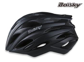 BAISKY  自行車安全帽 第一代輕量級 安全帽 消光黑 百士奇 運動王【162501000103】