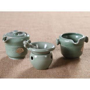 品名 : 日出東方 龍泉青瓷茶具套裝