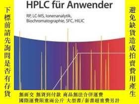二手書博民逛書店Der罕見Gradient in der HPLC für Anwender: RP, LC-MS, Ionena