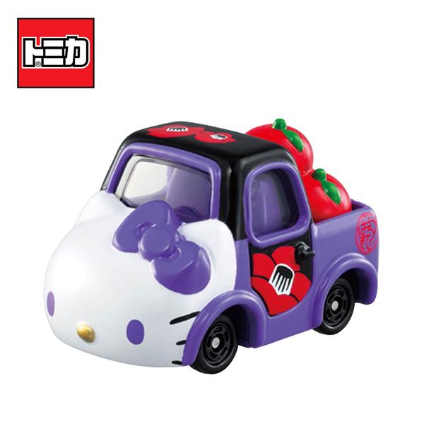 【日本正版】Dream TOMICA SP 凱蒂貓 和服系列 紫色款 和(椿) Hello Kitty 多美小汽車 - 166849