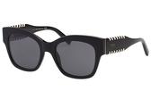 TOD'S 廣告款 貓眼 編織 太陽眼鏡 -黑色