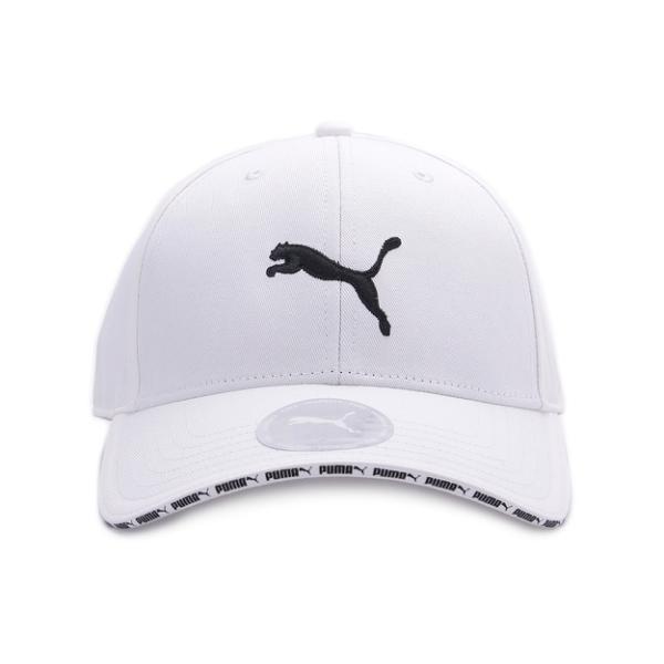 PUMA VISOR 印字棒球帽 白 022824-03