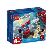 76172【LEGO 樂高積木】Marvel 漫威英雄系列 - 蜘蛛人&沙人決戰