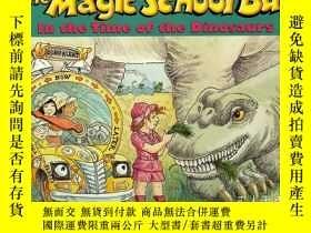二手書博民逛書店The罕見Magic School Bus: In the Time of the Dinosaurs 神奇校車: