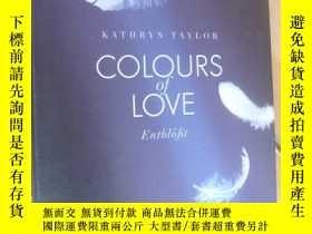 二手書博民逛書店colours罕見of love-Entblößt 德文原版小說Y164736 kathryn Taylor