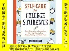 二手書博民逛書店Self-Care罕見for College Students: