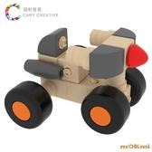【木可米mOKmi x umu】360°扣木製積木-車糸列 MO100003