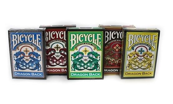 【USPCC 撲克】撲克牌BICYCLE Dragon 時尚龍