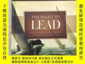 二手書博民逛書店The罕見Right to Lead: Learning Lea