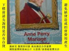 二手書博民逛書店法語原版罕見Mariage impossible de Anne