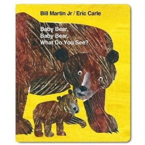 【麥克書店】BABY BEAR, BABY BEAR, WHAT DO YOU SEE? /硬頁書+CD