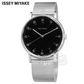 ISSEY MIYAKE 三宅一生 / VJ21-0360D.NYAJ702Y /  F系列 極致完美 日本製造 米蘭編織不鏽鋼手錶 黑色 39mm