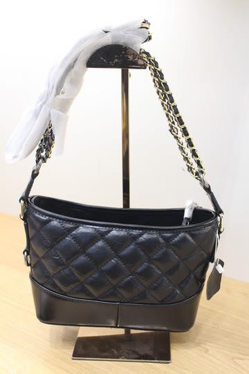韓國香奈兒小香Chanel流浪包單肩包雙鍊包菱格紋雙色鍊牛皮東大門限量預購特價-小款賣場