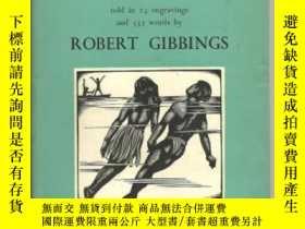 二手書博民逛書店版畫大師Robert罕見Gibbings:Coming down