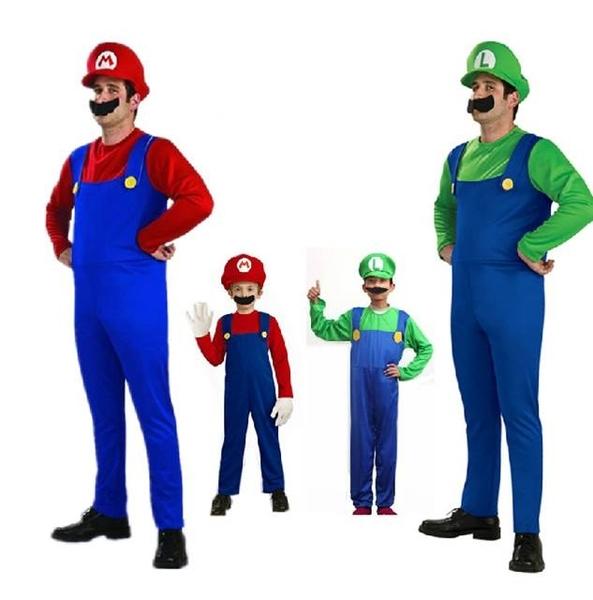 【塔克】萬聖節 超級瑪莉 馬利兄弟 馬力歐 兄弟檔 帽子 搞怪/惡搞/尾牙/變裝/遊行/COS 佈置裝飾