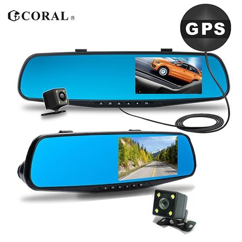 CORAL M2 GPS測速雙錄行車紀錄器(附16G記憶卡)【愛買】