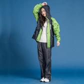 [安信騎士] 藏衫罩背背款 大人 背包 兩件式 風雨衣 綠 雨衣 後背包收納空間