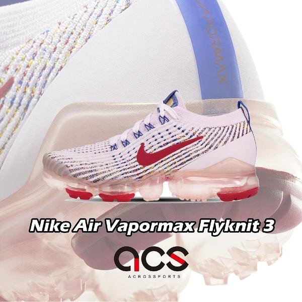 【六折特賣】Nike 慢跑鞋 Wmns Air Vapormax Flyknit 3 紫 紅 女鞋 編織鞋面 氣墊 運動鞋 【ACS】 AJ6910-501