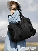 行李包卡樂弗短途旅行包女手提大容量行李包便攜登機摺疊旅行袋男健身包