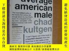 二手書博民逛書店The罕見average american maleY85718
