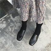 小皮鞋女秋季新款英倫風復古淺口漆皮圓頭小單鞋學生百搭女鞋 3C優購