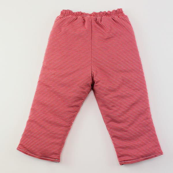 【愛的世界】鋪棉兩面穿長褲/4~8歲-台灣製- ★秋冬下著