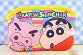 【震撼精品百貨】蠟筆小新_Crayon Shin-chan~小新拉鍊零錢包/收納包-方形#00989
