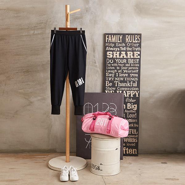 【8:AT 】運動長褲  M-XL(黑)(未滿3件恕無法出貨,退貨需整筆退)