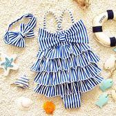 韓國嬰幼兒女連體寶寶裙式三角大中小兒童可