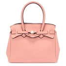 SAVE MY BAG Miss系列簡約輕量防水托特包(淡粉色)280001-2