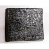 【雪曼國際精品】Longchamp Le Foulonne素面荔枝紋皮革八卡對折短夾-黑色
