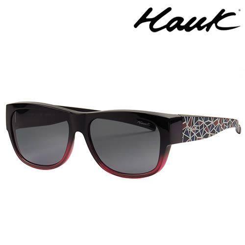 HAWK偏光太陽套鏡(眼鏡族專用)HK1007-29A