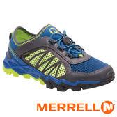 【美國 MERRELL】HYDRO RUN 2.0兒童水陸兩棲鞋『藍/灰/黃』56506 健行鞋.兒童鞋.機能鞋.休閒鞋.登山