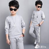 新款韓版中大童兒童裝中大尺碼男童套裝新款8運動12兩件套15歲潮 js10091『科炫3C』