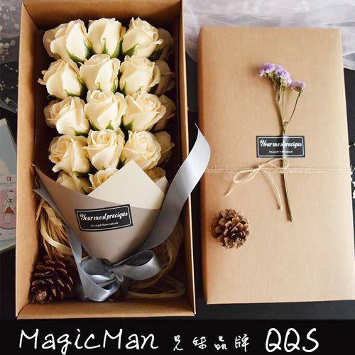 玫瑰花束生日禮物(QJ0305)★Magicman兄妹品牌QQS★預購+現貨
