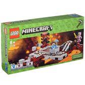 樂高LEGO Minecraft 當個創世神 The Nether Railway 地獄礦車 21130